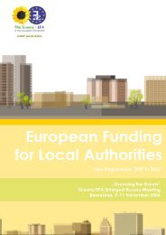 European Funding for Local Authorities - The Greens