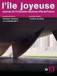 Téléchargez ici l'édition n° 13 (1178 Ko) - Orchestre national d'Ile-de ...