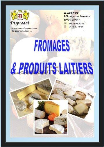 catalogue fromages & produits laitiers - Disprodal