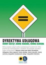 DYREKTYWA USĻUGOWA - The Greens