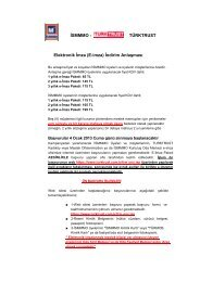 (E-imza) İndirim Anlaşması - İstanbul SMMM Odası