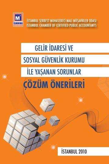 1.2 çözüm önerileri - İstanbul SMMM Odası