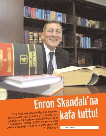 Vergi denetimi denilince Türkiye'de ilk akla gelen isimlerden olan ...