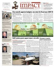 City councils approve budgets, tax rates for fiscal year 2009-10