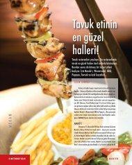 Tavuk etinin en güzel halleri! - İstanbul SMMM Odası