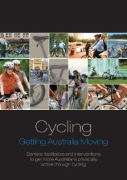 CYCLING: Getting Australia Moving - Oxford Health Alliance