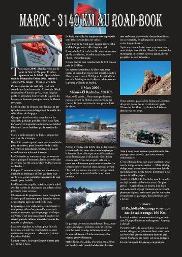 Timeless Magazine par François - Side Trail Maroc 2006