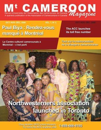 CaMeroon Magazine - Association des Camerounais du Canada