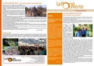 Bulletin N° 278 juillet-septembre 2012 - La Porte Ouverte
