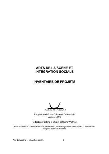 Inventaire des projets artistiques en Angleterre - Culture & Démocratie