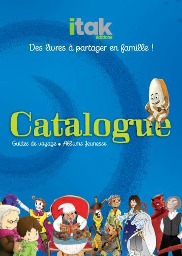 Catalogue 2012 - Itak Editions