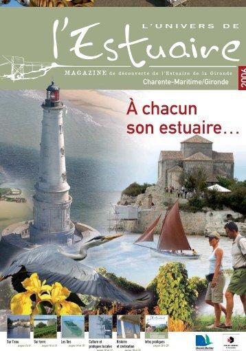 L'Univers de l'Estuaire - Conseil Général de la Gironde