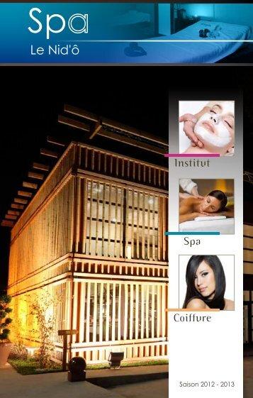 Consultez les tarifs Spa et massage - Club 7