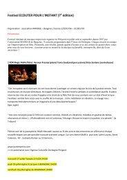 JUILLET >> mercredi 11 - jeudi 12 - vendredi 13 - Pays de Bergerac