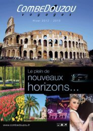 Programme 2012-2013 - Combedouzou