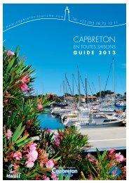 guide 2013 - Office de Tourisme de Capbreton