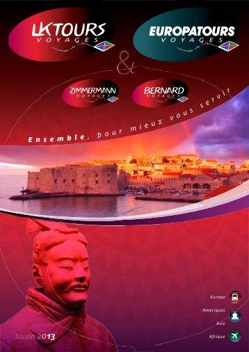 Voir le catalogue - LKTOURS voyages