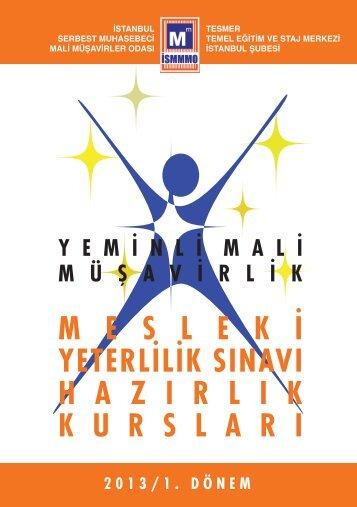 meslek i yeterlilik sınavı hazırlıkkursları - İstanbul SMMM Odası
