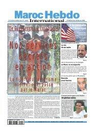 téléchargez toutes les pages de mhi n° 542 en pdf - Maroc Hebdo ...