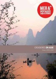 CROISIERES EN ASIE - Mer et Voyages