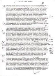 Brouillons avec corrections manuscrites, fuite à moto - Jean-Philippe ...