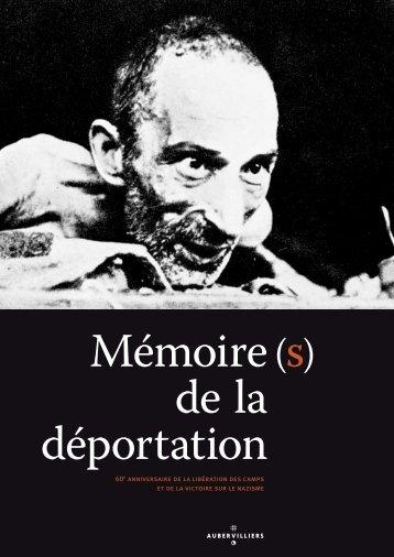 le dépliant sur la déportation - Ville d'Aubervilliers