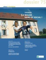 Dossier Logement : ça bouge dans le social - Territoire de Belfort