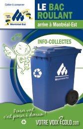 LE BAC ROULANT - Ville de Montréal-Est