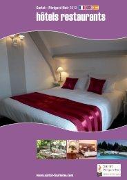 hôtels restaurants - Office de Tourisme de Sarlat