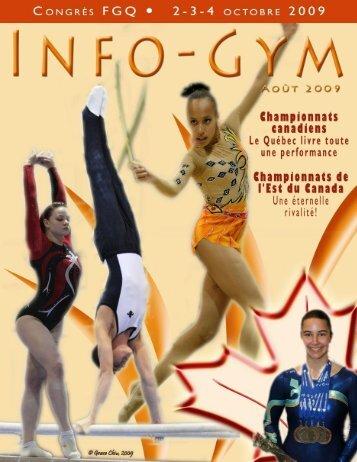 INFO GYM - Gymnastique Québec