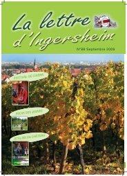 N°88 Septembre 2009 - Réseau des Communes