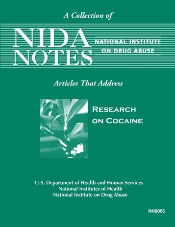 Research on Cocaine - Archives - National Institute on Drug Abuse