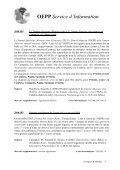 OEPP Service d'Information - Lists of EPPO Standards - European ... - Page 6