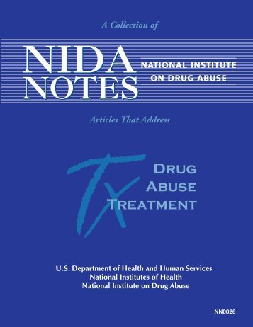 Drug Abuse Treatment - Archives - National Institute on Drug Abuse