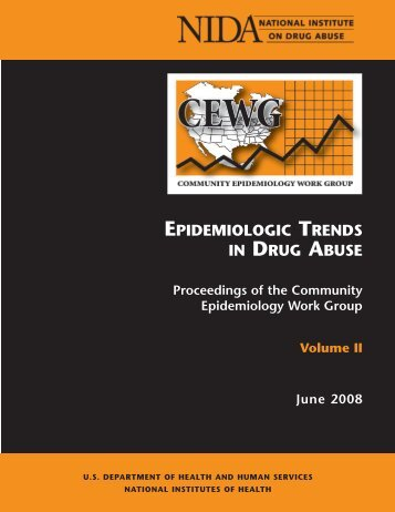 epidemiologic trends in drug abuse - Archives - National Institute on ...