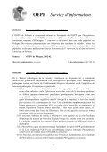 Service d'Information - Lists of EPPO Standards - European and ... - Page 6