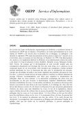Service d'Information - Lists of EPPO Standards - European and ... - Page 7