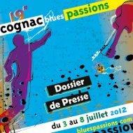 Dossier de Presse Blues Passions 2012 - La Charente