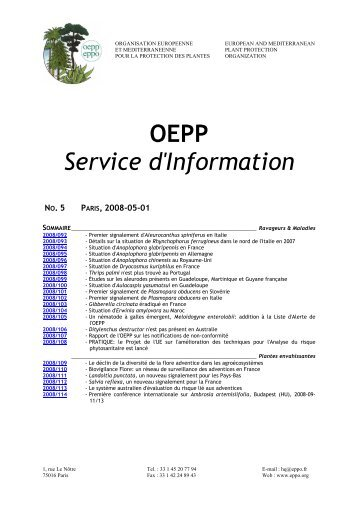 archives.eppo.org - Lists of EPPO Standards - European and ...