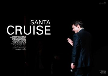 Constance Dovergne Increvable, Tom Cruise se balade depuis 30 ...