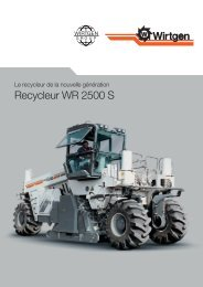 Recycleur WR 2500 S - Wirtgen GmbH