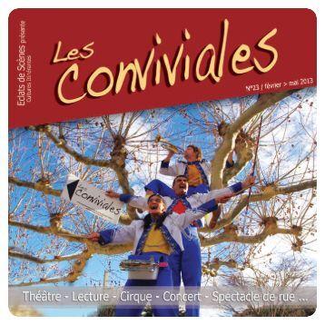 Les Conviviales - Programme - Eclats de scènes