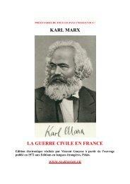 karl marx la guerre civile en france - communisme-bolchevisme