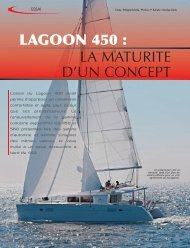 LAGOON 450 : LA MATURITE D'UN CONCEPT