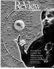 V15 #2 April 1994 - Archives - The Evergreen State College