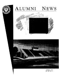 ALUMNI NEWS - Frederick D. Hill Archives