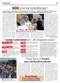 • Contre la criminalisation du mouvement social • Contre le fichage ... - Page 3