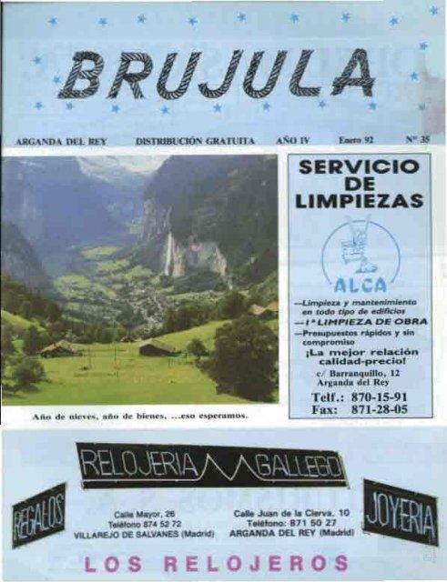 """Revista """"Brújula"""" - Archivo de la Ciudad de Arganda del Rey ..."""