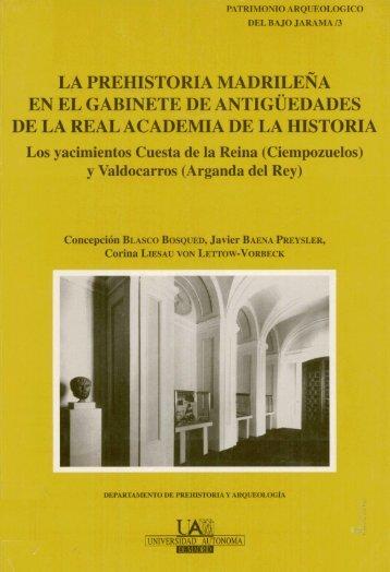 """""""El Yacimiento de Valdocarros (Arganda del Rey)"""" - Archivo de la ..."""