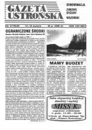 Gazeta Ustrońska nr 2 / 95